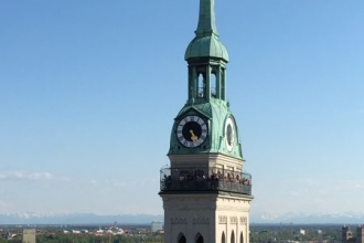 alter Peter vom Rathausturm aus
