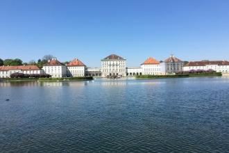 Schloss Nymphenburg Front
