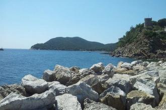 Elba - Marina di Campo - Meer