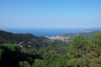 Elba - Monte Capanne - Aussicht 1