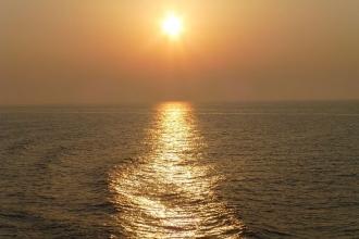 Elba - Autofähre .Sonnenuntergang 2