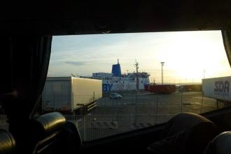 Elba-Ankunft mit Bus