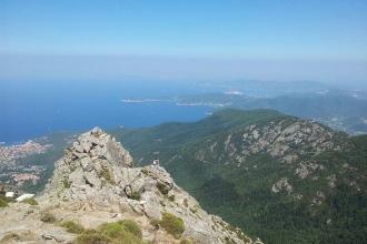 Elba - Monte Capanne - Aussicht