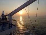 Elba - Autofähre .Sonnenuntergang 1