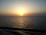 Elba - Autofähre .Sonnenuntergang 5