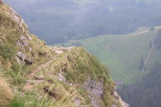 Pilatus Bandweg Wanderweg