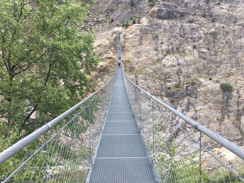 Hängebrücke-Massaschlucht