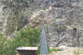 Hängebrücke-Aletschgletscher-Aletschji