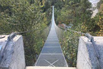 Coole-Hängebrücke-Bhutan
