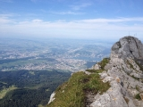 Pilatus - Sicht ins Tal
