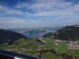 Stanserhorn Ausblick von Gondel