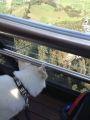 Stanserhorn mit Inaya in der Cabriobahn
