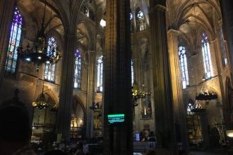 Innenbereich der Kathedrale von Barcelona