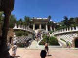 Guell-Park-Barcelona-Eingangsbereich