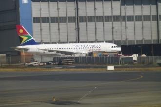 Südafrika Inlandflug Kapstadt-Johannesburg 8