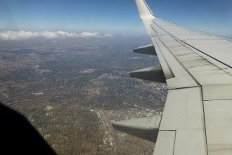 Südafrika Inlandflug Kapstadt-Johannesburg 7