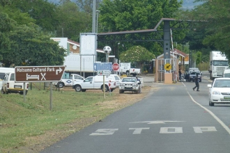 Swasiland-Südafrika-Grenze