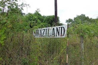 Swasiland-Grenzübergang