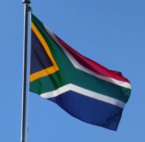 Flagge-Südafrika