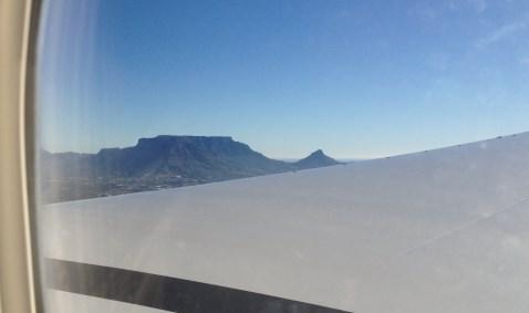 Flug nach Kapstadt