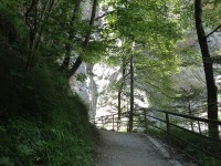 Aareschlucht Haslital Berner Oberland