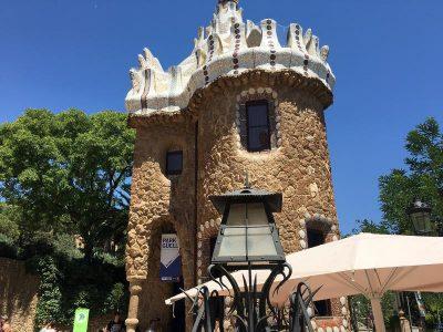 Der Guellpark von Barcelona - Sehenswürdigkeit