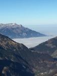 Melchseefrutt - Aussicht aufs Nebelmeer