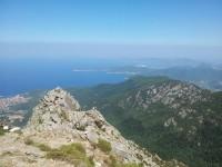 Italien - Elba vom Monte Capanne aus