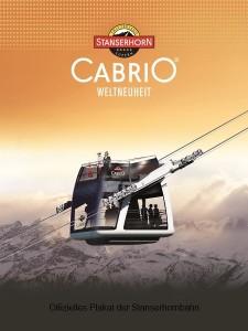 Offizielles Bild der CabriO-Seilbahn