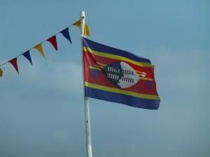 Flagge von Swasiland