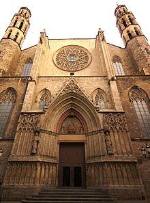 Santa Maria del Mar - Basilika in Barcelona