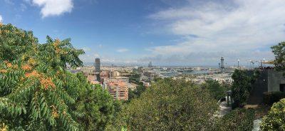 Hafenseilbahn Barcelona Aussicht