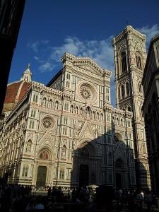Der Dom Santa Maria del Fiore Frontansicht