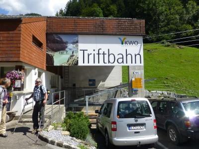 Bahnstation Triftbahn Nessental
