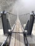 Brückenkopf bei Einstieg Triftbrücke